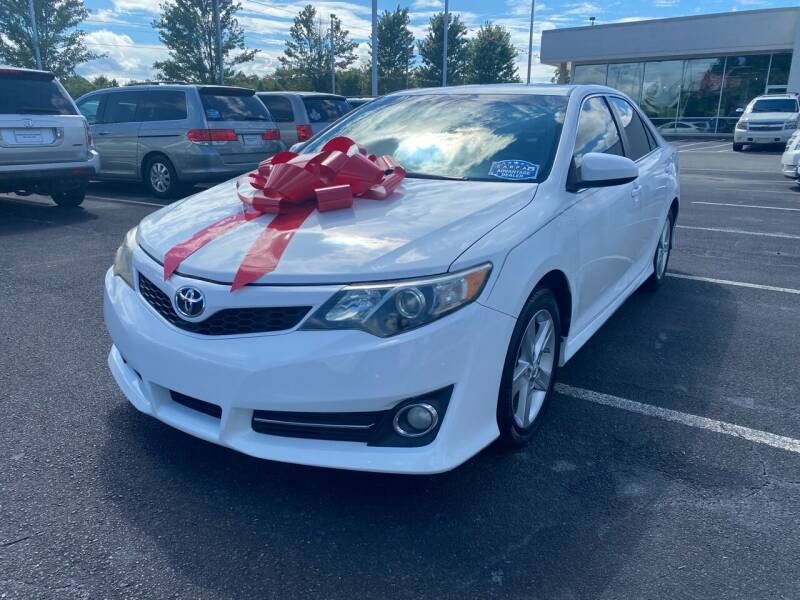 2013 Toyota Camry for sale at Charlotte Auto Group, Inc in Monroe NC