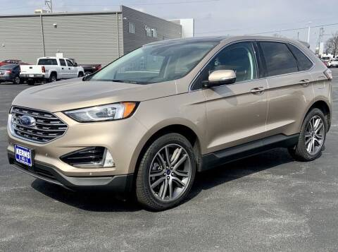 2021 Ford Edge for sale at Kerns Ford Lincoln in Celina OH