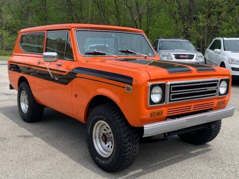 1979 International Scout for sale at Elite Motors in Uniontown PA