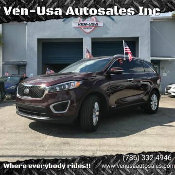 2018 Kia Sorento for sale at Ven-Usa Autosales Inc in Miami FL