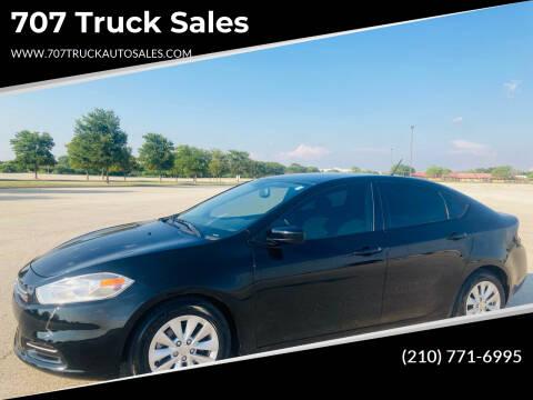 2014 Dodge Dart for sale at 707 Truck Sales in San Antonio TX