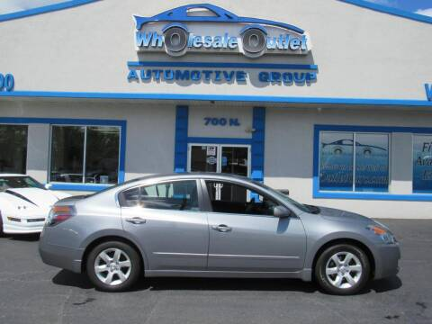 2009 Nissan Altima for sale at The Wholesale Outlet in Blackwood NJ