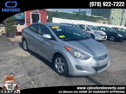 2013 Hyundai Elantra for sale at CJ Motors Inc. in Beverly MA