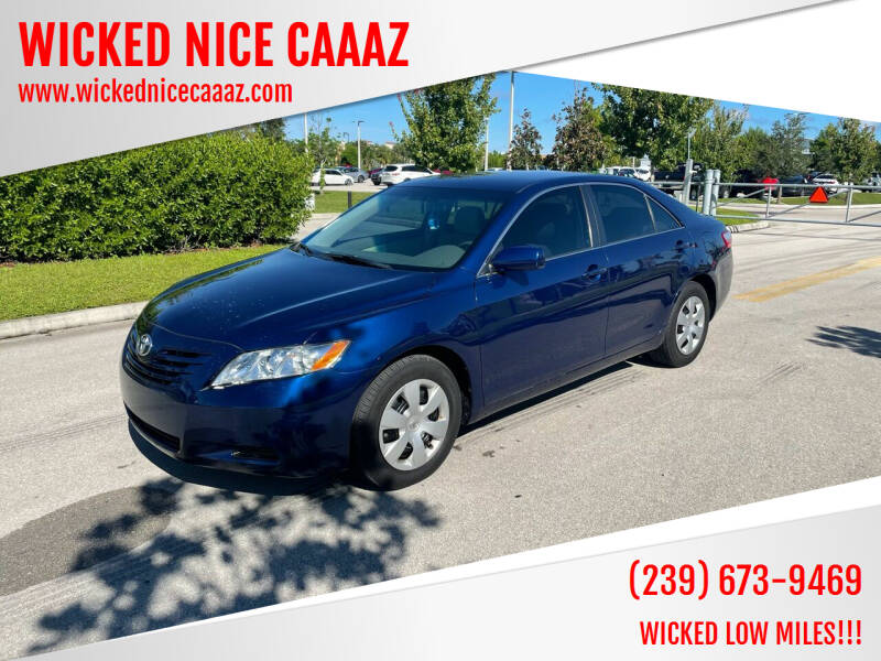 2009 Toyota Camry for sale at WICKED NICE CAAAZ in Cape Coral FL