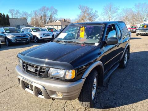 2002 Isuzu Rodeo Sport for sale at River Motors in Portage WI