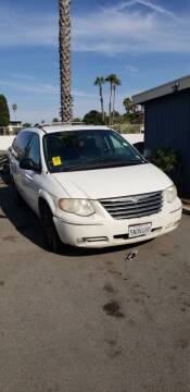 2005 Chrysler Town and Country for sale at CABO MOTORS in Chula Vista CA