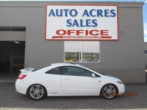 2007 Honda Civic for sale at Auto Acres in Billings MT