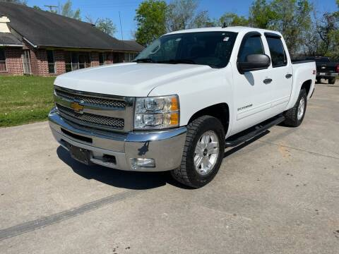 2012 Chevrolet Silverado 1500 for sale at RODRIGUEZ MOTORS CO. in Houston TX