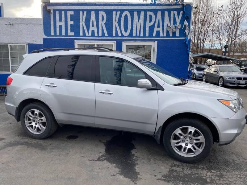 2007 Acura MDX for sale at The Kar Kompany Inc. in Denver CO