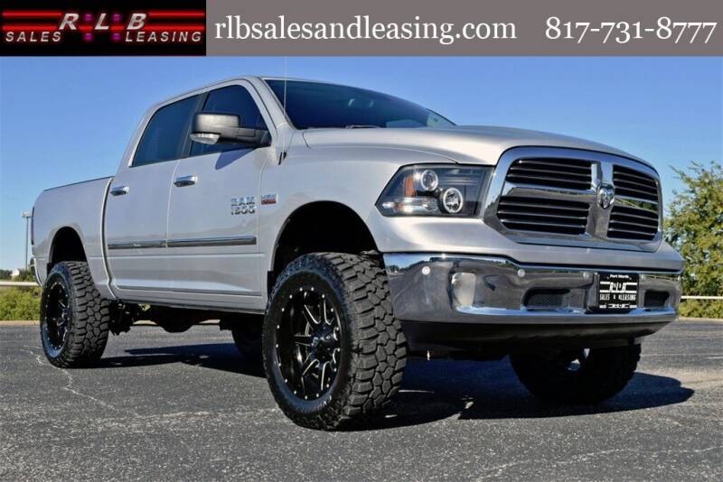 2016 RAM Ram Pickup 1500 for sale at RLB Sales and Leasing in Fort Worth TX