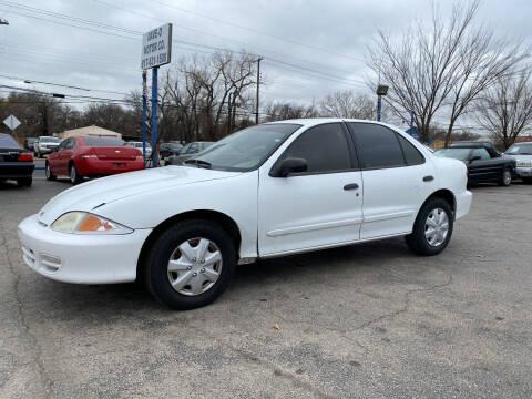 2002 Chevrolet Cavalier for sale at Dave-O Motor Co. in Haltom City TX