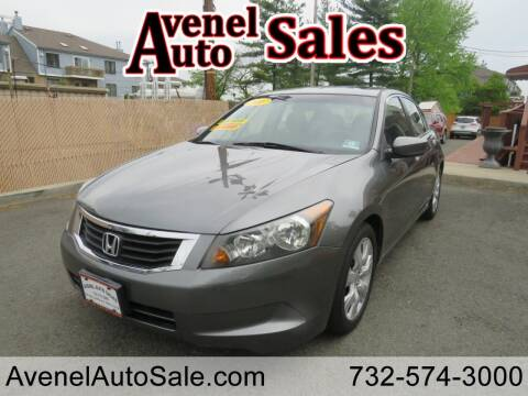 2008 Honda Accord for sale at Avenel Auto Sales in Avenel NJ