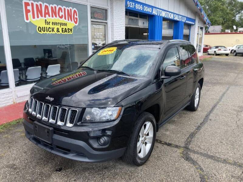 2016 Jeep Compass for sale at AutoMotion Sales in Franklin OH