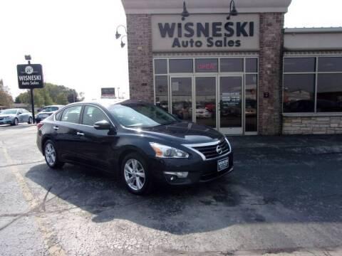 2014 Nissan Altima for sale at Wisneski Auto Sales, Inc. in Green Bay WI