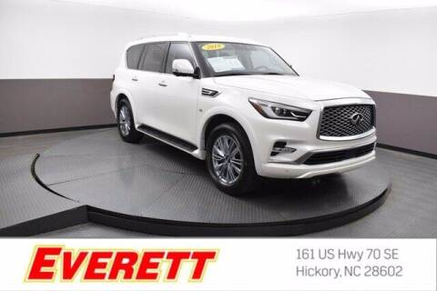 2019 Infiniti QX80 for sale at Everett Chevrolet Buick GMC in Hickory NC