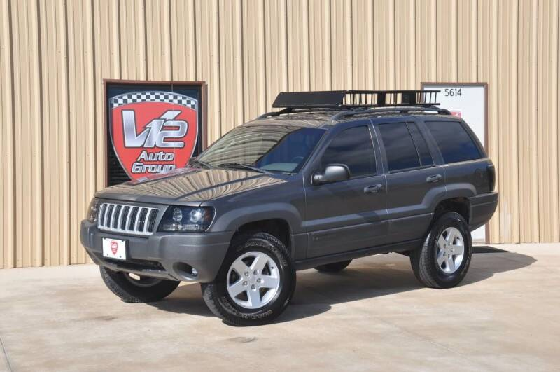 2004 Jeep Grand Cherokee for sale at V12 Auto Group in Lubbock TX