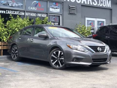 2018 Nissan Altima for sale at CARUCARS LLC in Miami FL