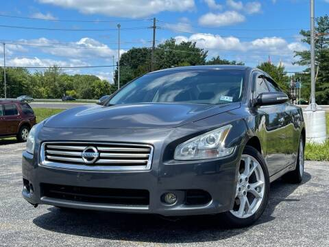 2012 Nissan Maxima for sale at MAGIC AUTO SALES in Little Ferry NJ