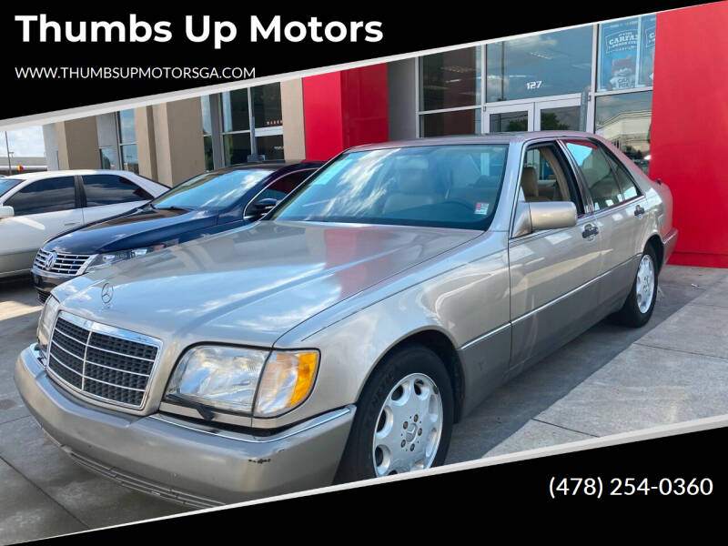 1994 Mercedes-Benz S-Class for sale at Thumbs Up Motors in Warner Robins GA