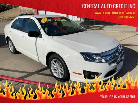 2011 Ford Fusion for sale at Central Auto Credit Inc in Kansas City KS