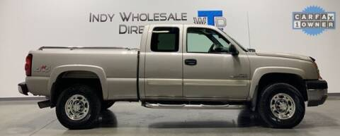 2005 Chevrolet Silverado 2500HD for sale at Indy Wholesale Direct in Carmel IN