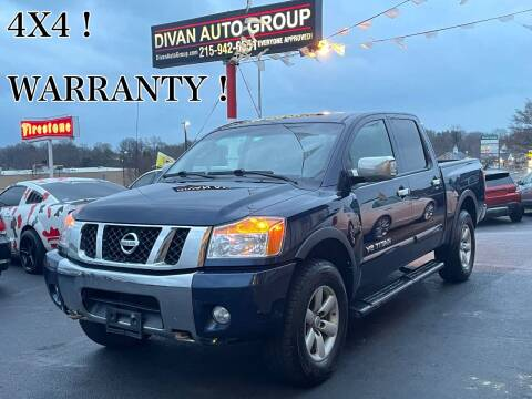 2010 Nissan Titan for sale at Divan Auto Group in Feasterville PA