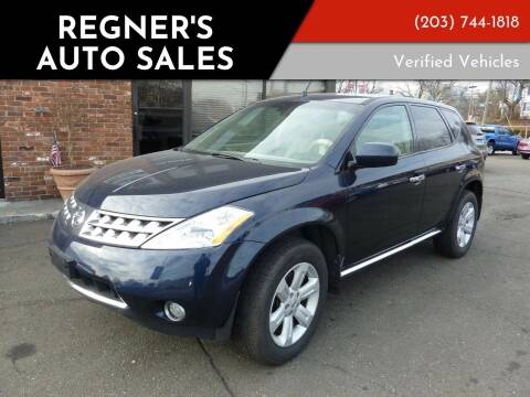 2006 Nissan Murano for sale at Regner's Auto Sales in Danbury CT