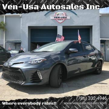 2019 Toyota Corolla for sale at Ven-Usa Autosales Inc in Miami FL