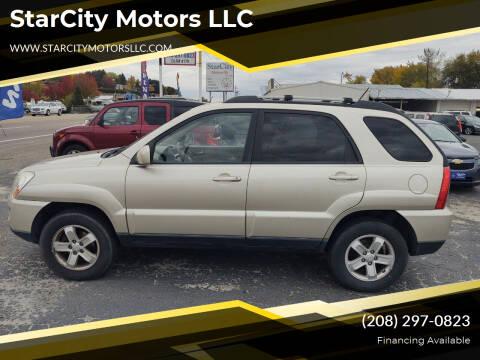 2009 Kia Sportage for sale at StarCity Motors LLC in Garden City ID