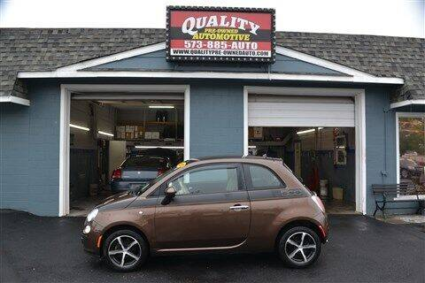 2012 FIAT 500 for sale at Quality Pre-Owned Automotive in Cuba MO