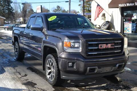 2014 GMC Sierra 1500 for sale at Nick's Motor Sales LLC in Kalkaska MI