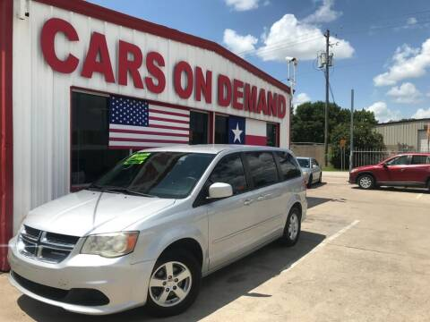 2011 Dodge Grand Caravan for sale at Cars On Demand 2 in Pasadena TX