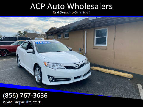 2013 Toyota Camry for sale at ACP Auto Wholesalers in Berlin NJ
