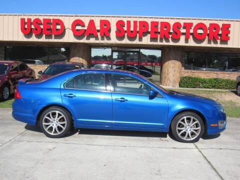 2012 Ford Fusion for sale at Checkered Flag Auto Sales NORTH in Lakeland FL