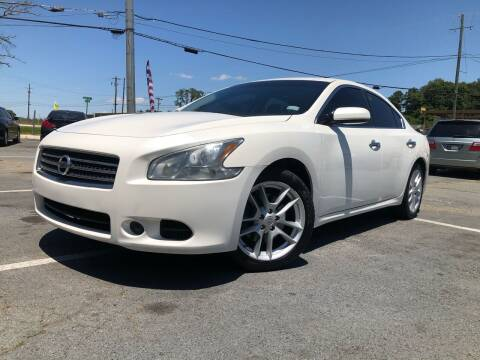 2009 Nissan Maxima for sale at Atlas Auto Sales in Smyrna GA