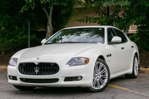 2013 Maserati Quattroporte for sale at Gravity Autos Atlanta in Atlanta GA
