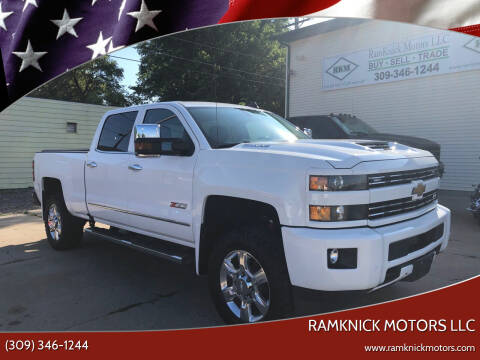 2018 Chevrolet Silverado 2500HD for sale at RamKnick Motors LLC in Pekin IL