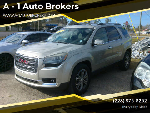 2015 GMC Acadia for sale at A - 1 Auto Brokers in Ocean Springs MS