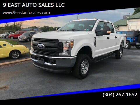 2018 Ford F-250 Super Duty for sale at 9 EAST AUTO SALES LLC in Martinsburg WV