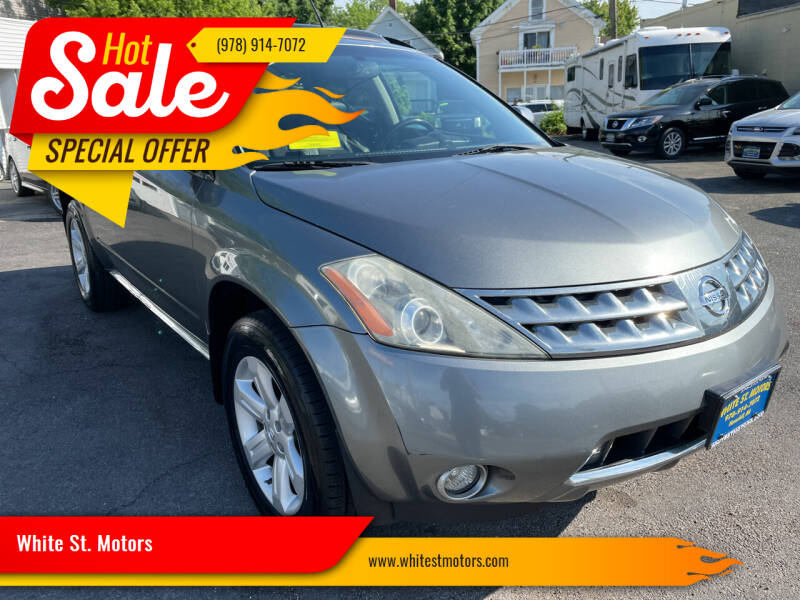 2007 Nissan Murano for sale at White St. Motors in Haverhill MA