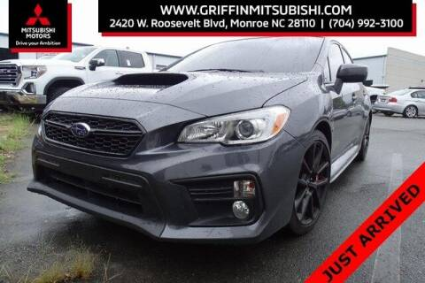 2020 Subaru WRX for sale at Griffin Mitsubishi in Monroe NC