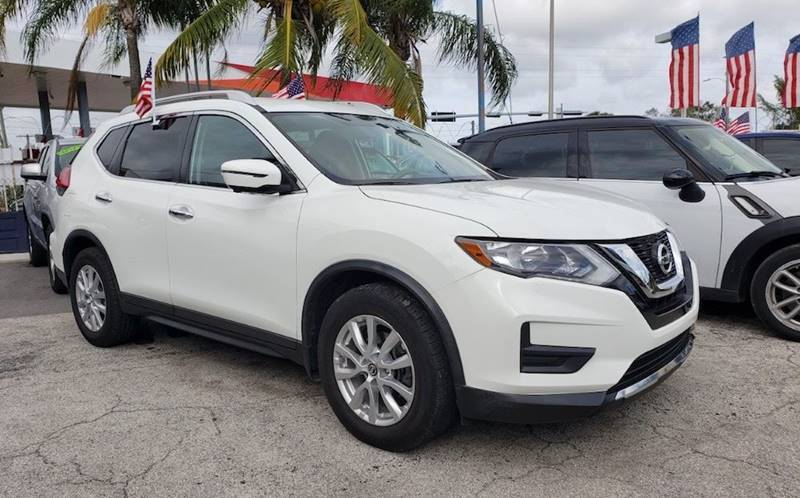 2017 Nissan Rogue SV 4dr Crossover - Miami FL