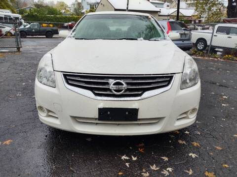 2012 Nissan Altima for sale at HARTFORD MOTOR CAR in Hartford CT