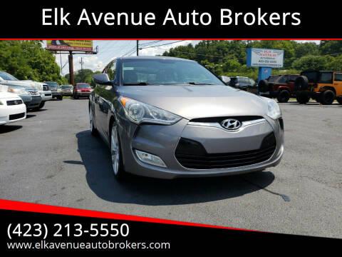 2012 Hyundai Veloster for sale at Elk Avenue Auto Brokers in Elizabethton TN