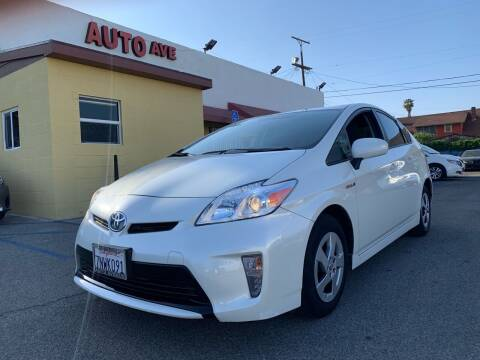 2015 Toyota Prius for sale at Auto Ave in Los Angeles CA