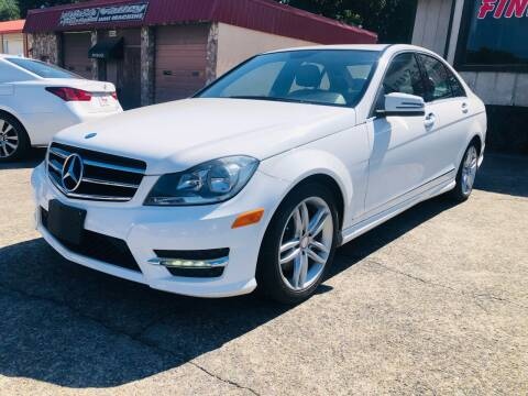 2014 Mercedes-Benz C-Class for sale at DUNCAN AUTO SALES, INC in Cartersville GA