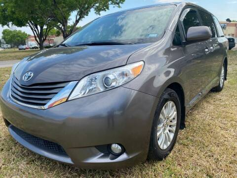 2013 Toyota Sienna for sale at Nationwide Auto Finance in Miami FL