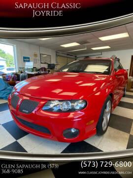 2004 Pontiac GTO for sale at Sapaugh Classic Joyride in Salem MO