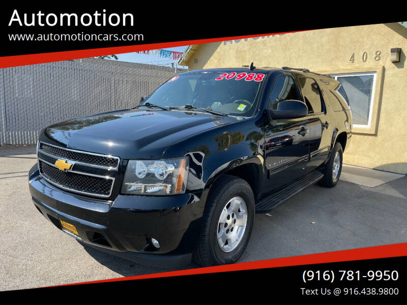 2014 Chevrolet Suburban for sale at Automotion in Roseville CA