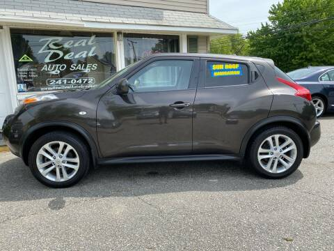 2012 Nissan JUKE for sale at Real Deal Auto Sales in Auburn ME